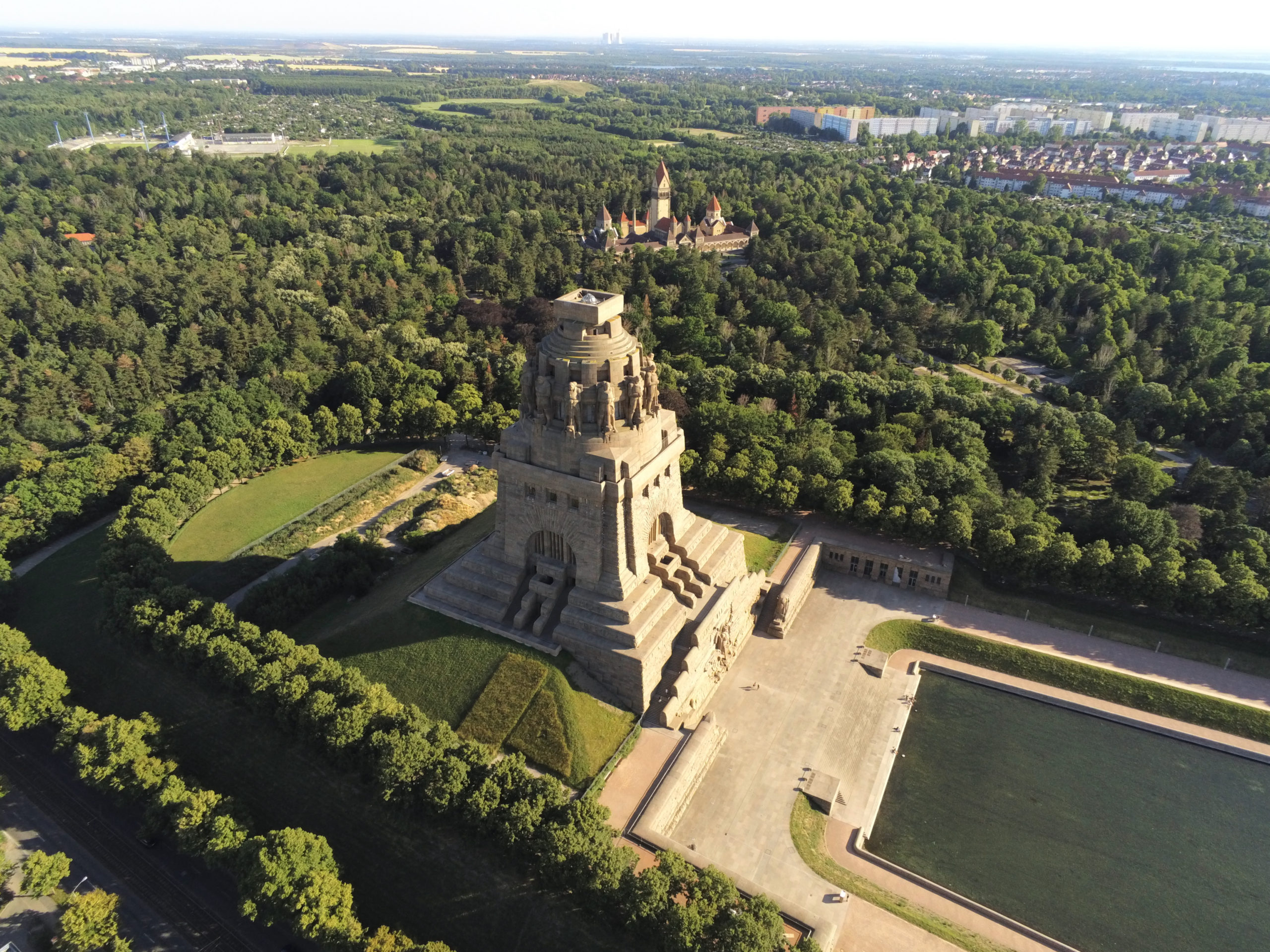 Völkerschlachtdenkmal der Stadt Leipzig